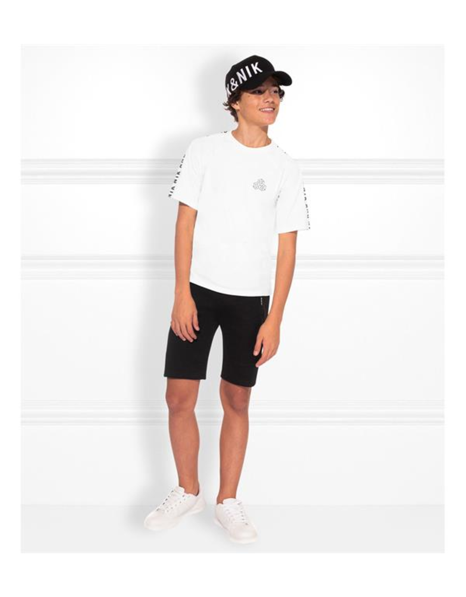 NIK & NIK Boys T.shirt Mylo Color: white