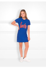 NIK & NIK Girls Dress Lucky Tee Color: river blue maat 170/176
