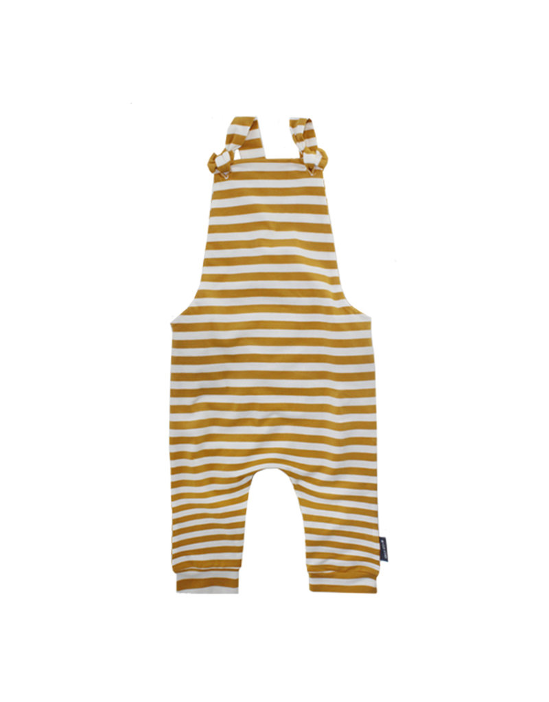 Your Wishes Ochre Stripes   Dungaree