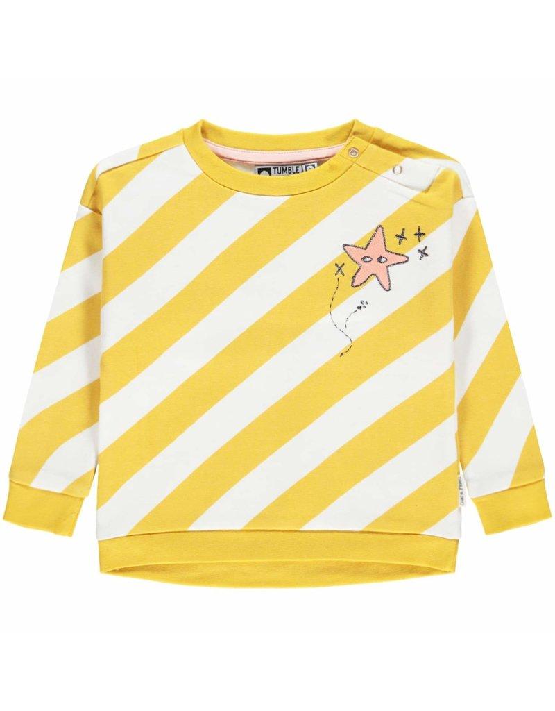 Tumble 'n Dry Girls Sweater Jonne Color: yellow