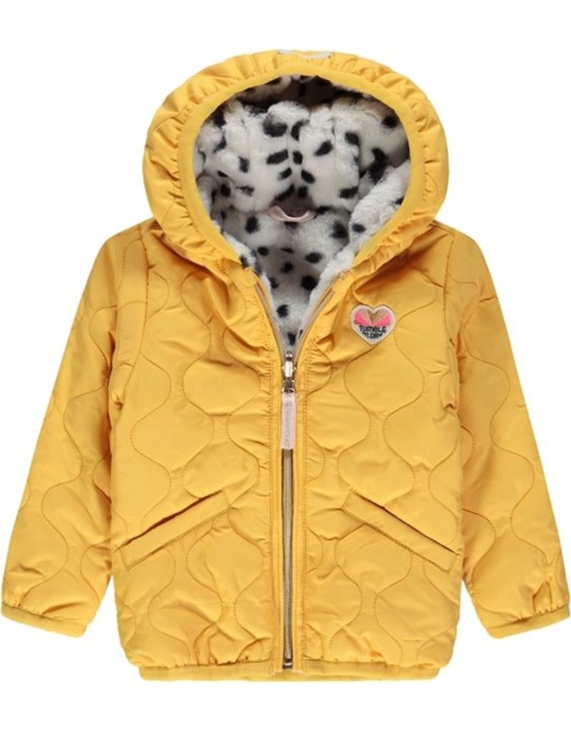 Tumble 'n Dry Girls jas Jettel Color: yellow