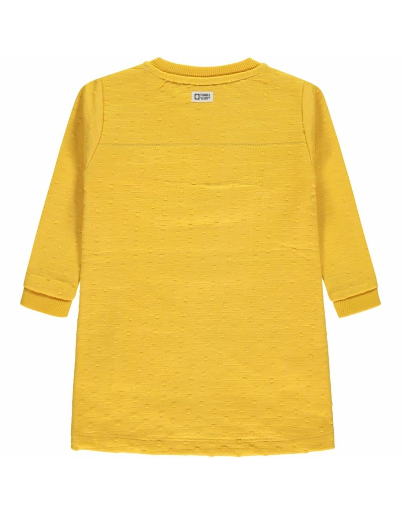 Tumble 'n Dry Girls dress Jea Color: yellow