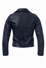 Looxs Revolution Girls biker jacket oxford blue