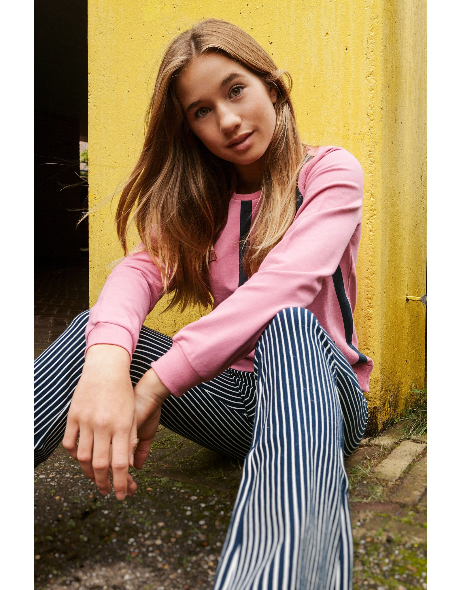Looxs Revolution Girls sweater blush pink