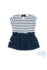 Feetje Jurk streep / AOP - Sailor Girl