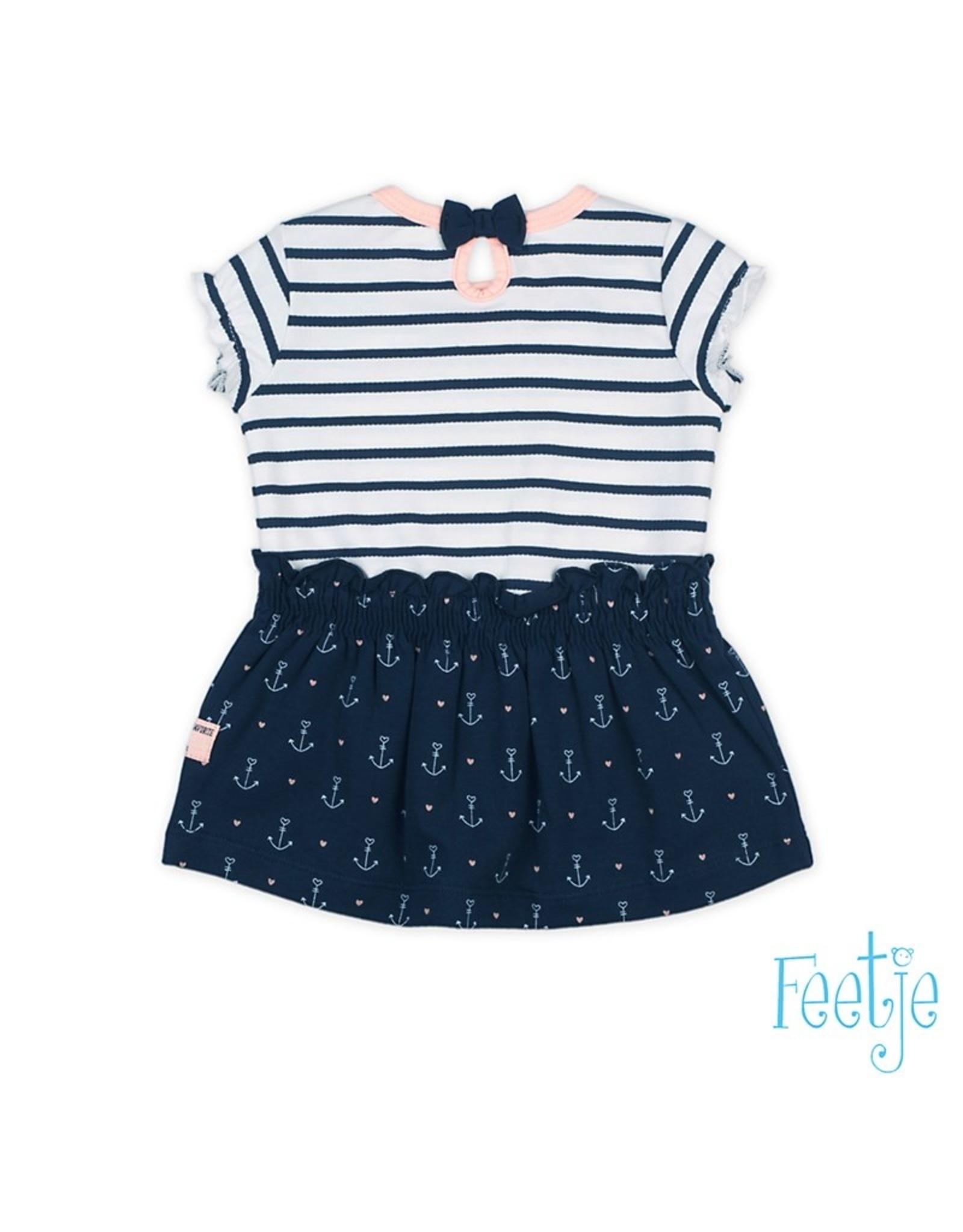 Feetje Jurk streep / AOP - Sailor Girl maat 56