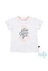 Feetje T-shirt hartjes - Sailor Girl