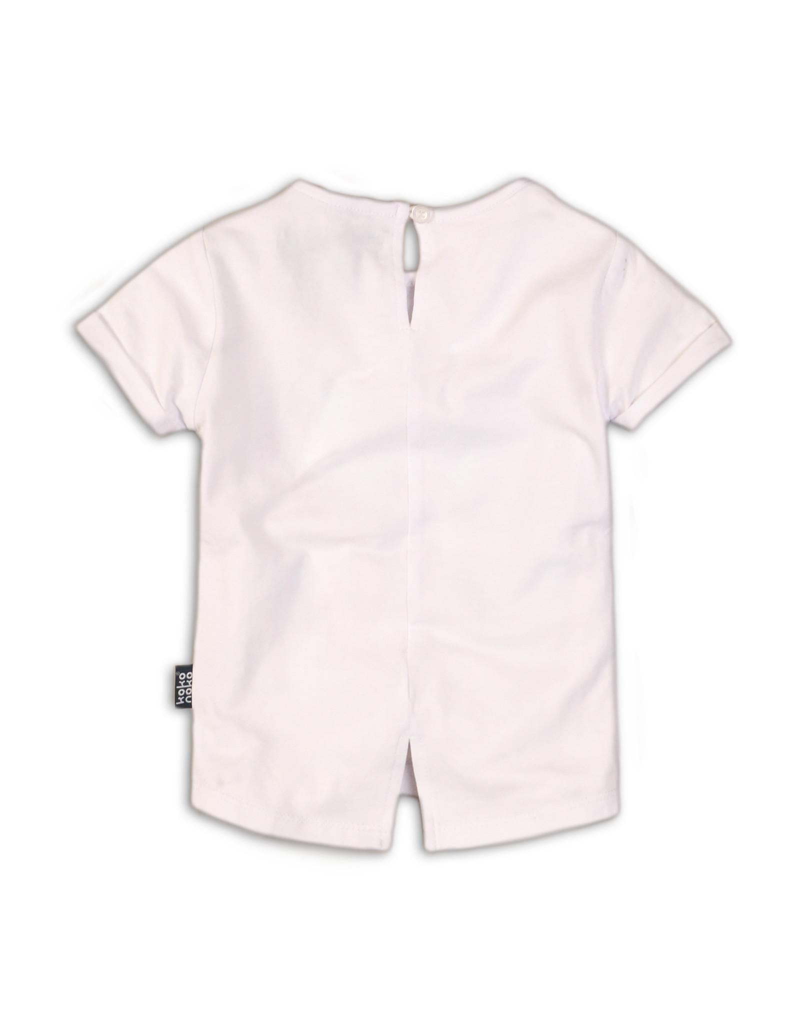Koko Noko T-shirt white