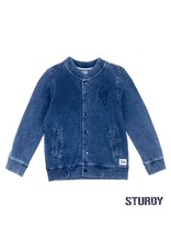 Sturdy Sweatvest denim look - Wild Wanderer