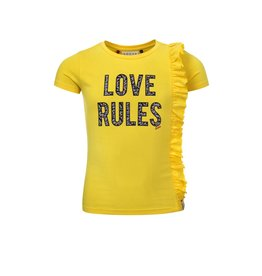 Looxs Revolution Girls T-shirt s/s yellow