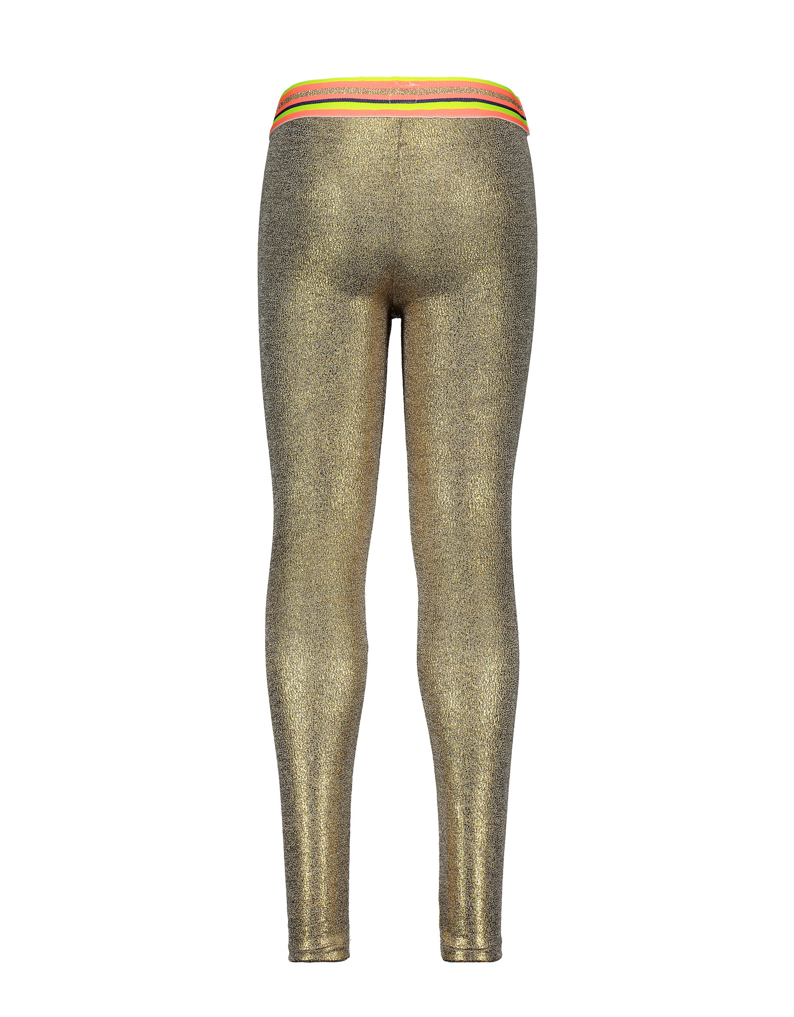 Kidz-Art Legging coated with fancy stripe elastic