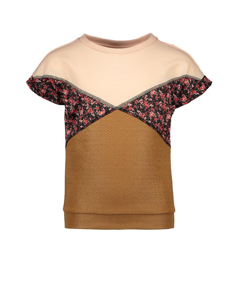 Like Flo Flo girls colour block top