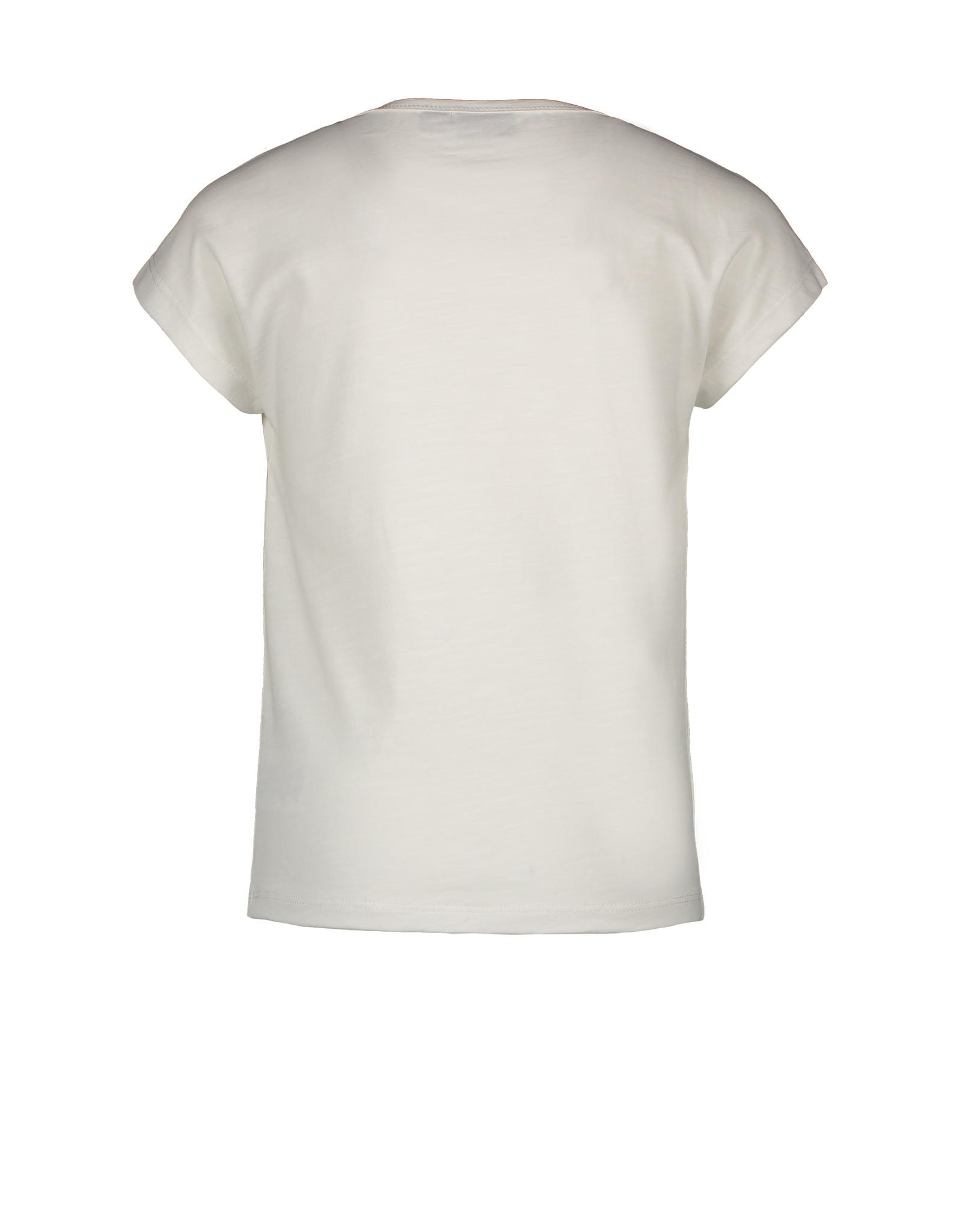Like Flo Flo girls slub jersey top off white maat 98
