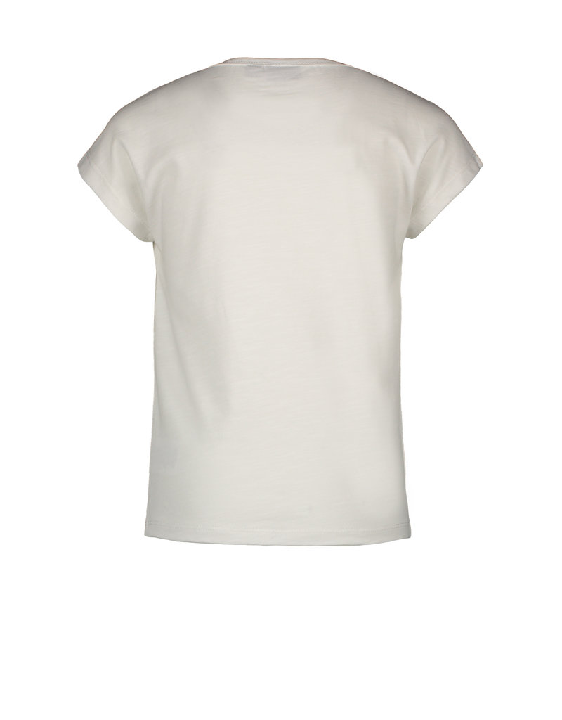 Like Flo Flo girls slub jersey top off white