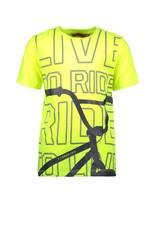 Tygo & Vito T&v t-shirt BMX safety yellow maat 110/116