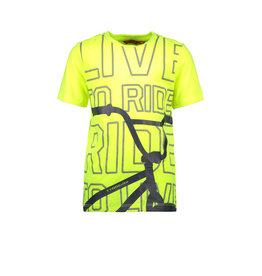 Tygo & Vito T&v t-shirt BMX safety yellow