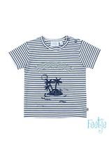 Feetje T-shirt streep - Smile & Wave