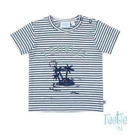 Feetje T-shirt streep - Smile & Wave maat 68