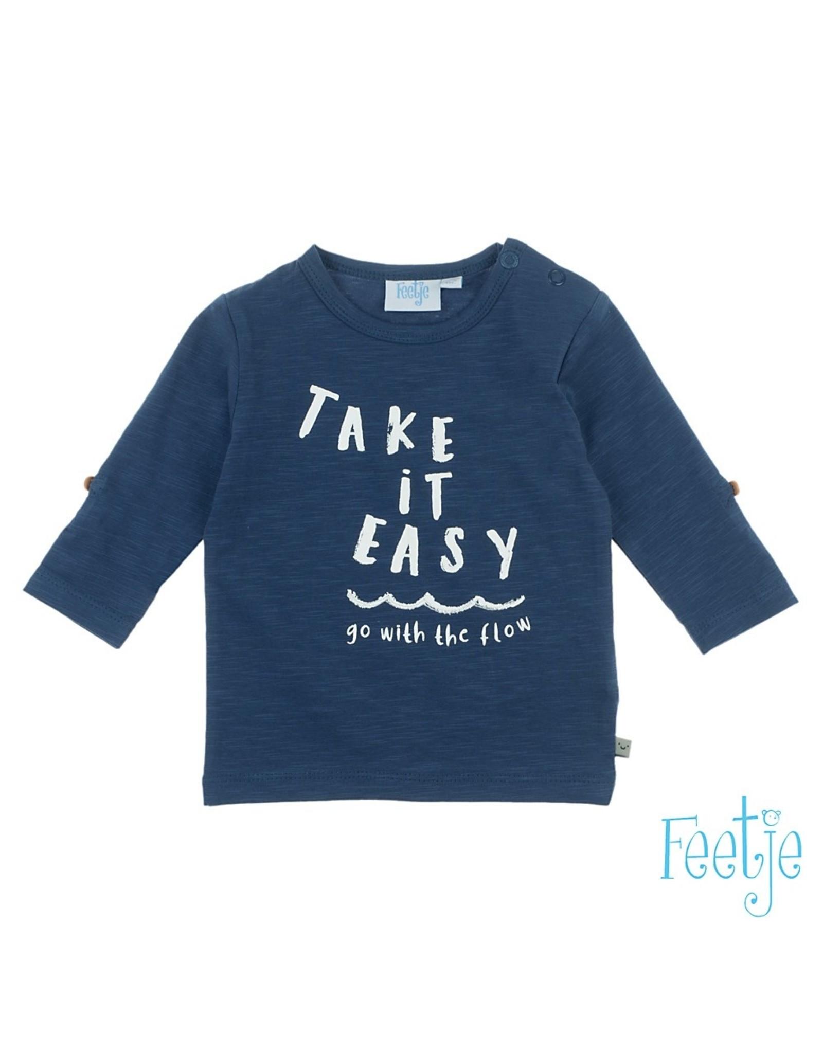 Feetje Longsleeve Take It Easy - Smile & Wave