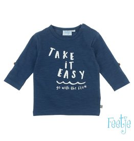 Feetje Longsleeve Take It Easy - Smile & Wave