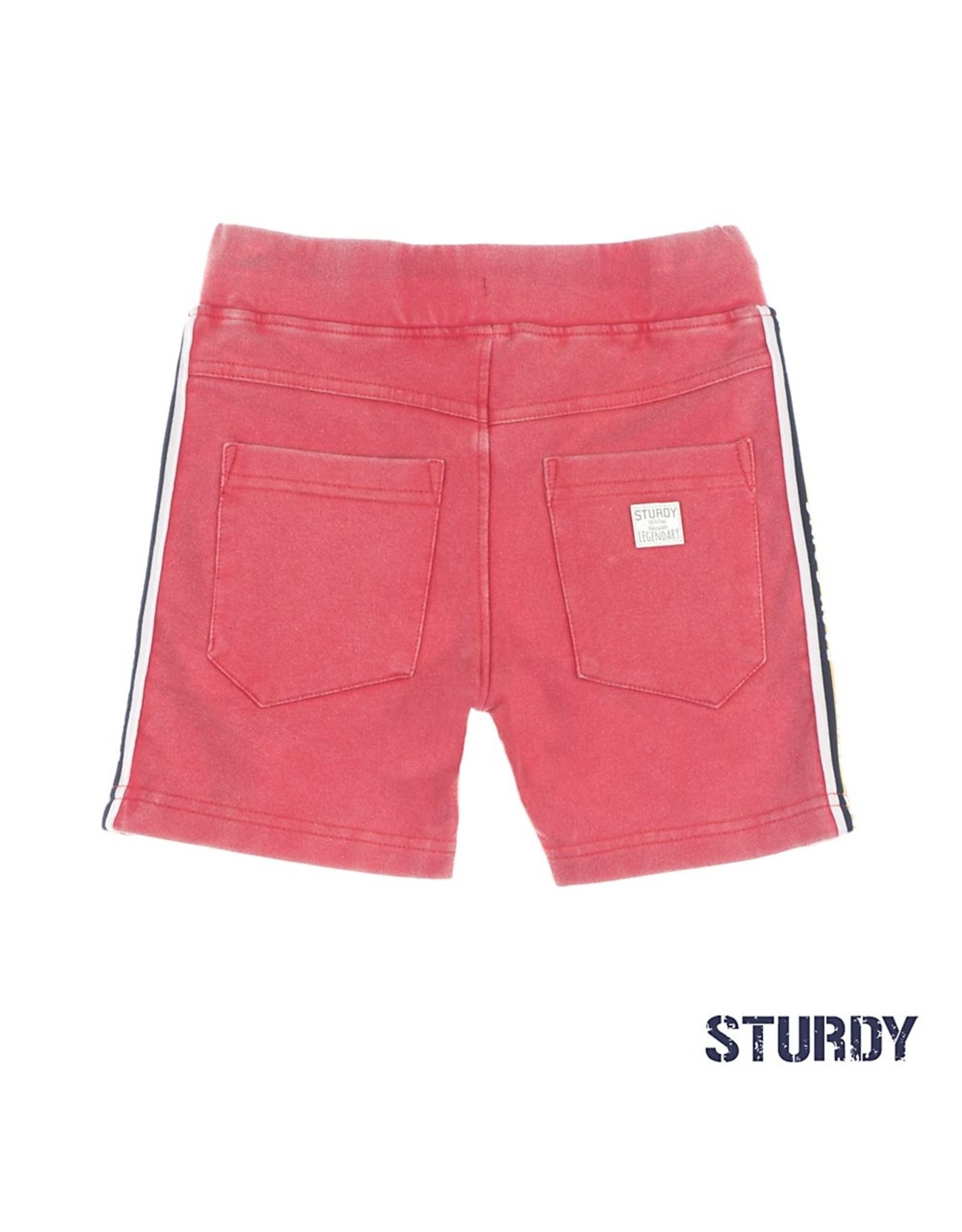 Sturdy Short - Thrillseeker rood maat 110