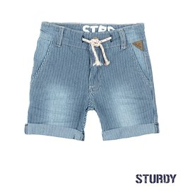 Sturdy Short streep - Summer Denims