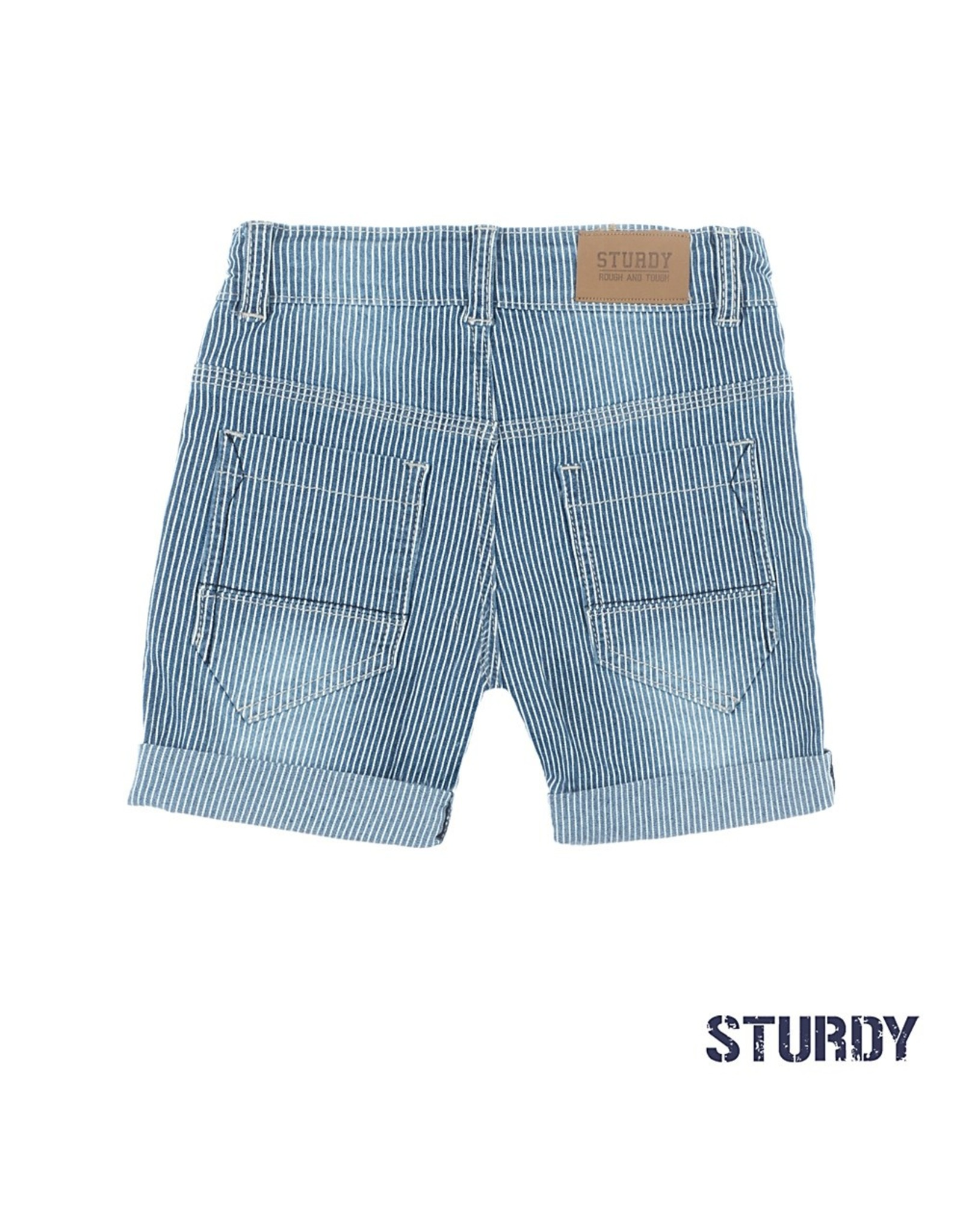 Sturdy Short streep - Summer Denims