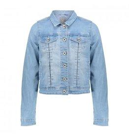 Geisha Jeans jacket chest pockets l/s