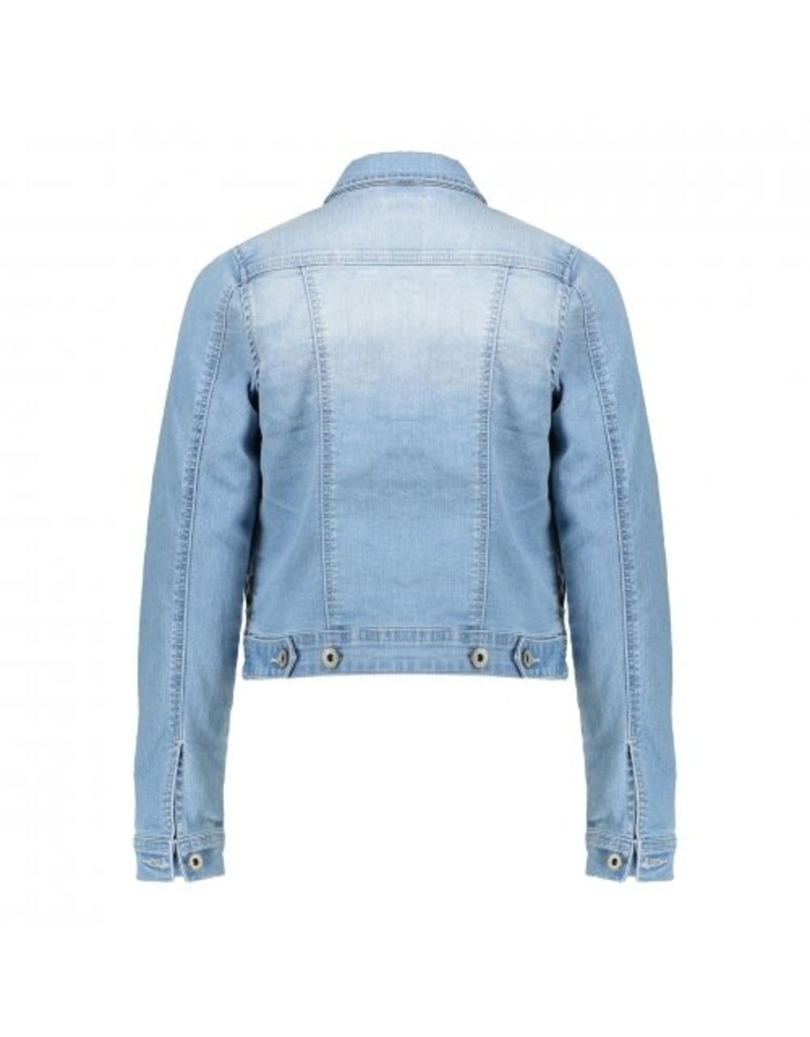 Geisha Jeans jacket chest pockets l/s maat 164