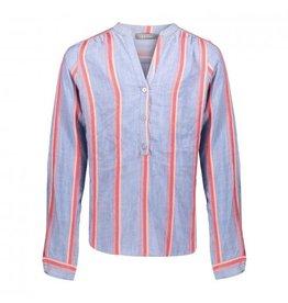 Geisha Top striped l/s maat 164