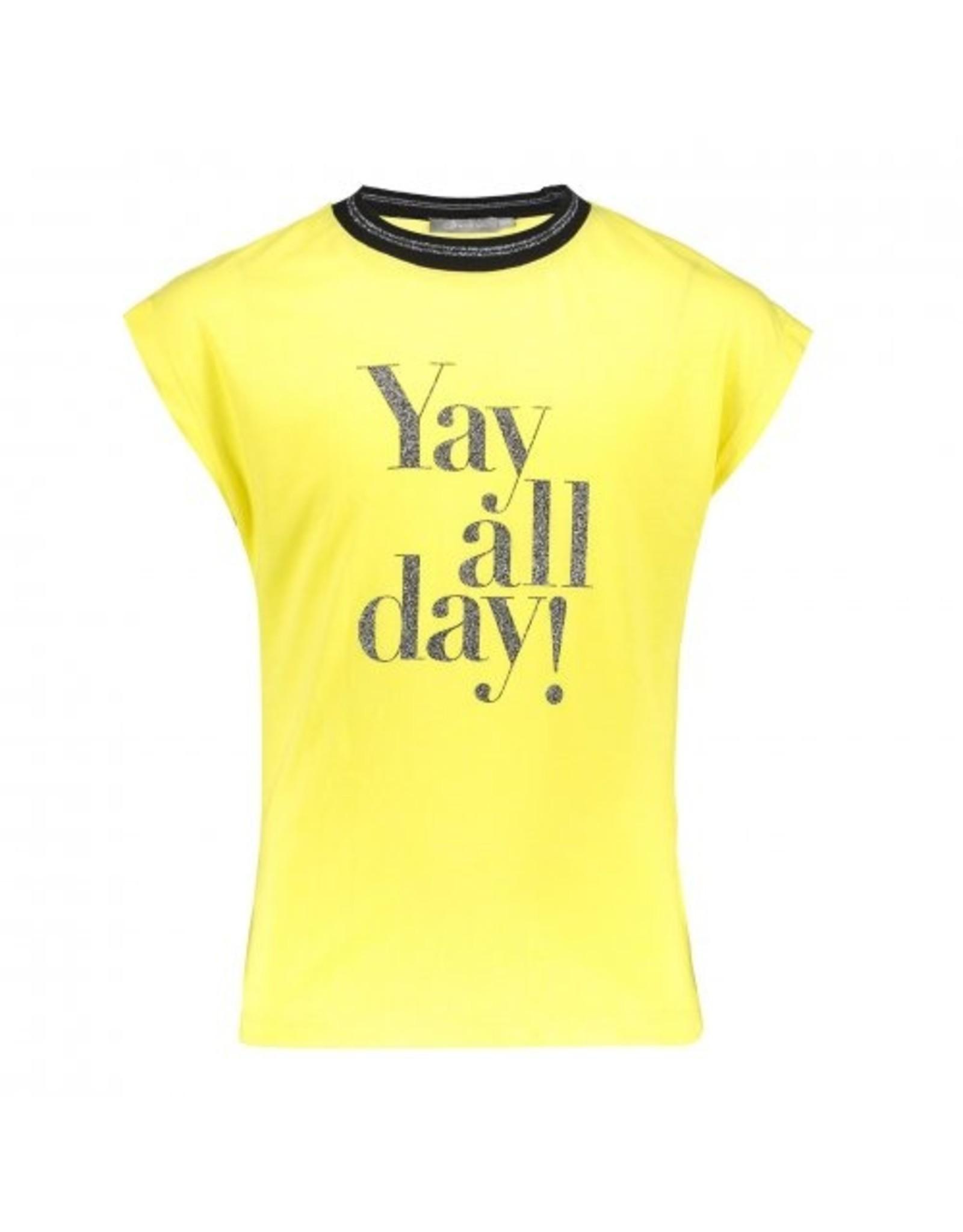 "Geisha T-shirt ""yay all day"" s/s"
