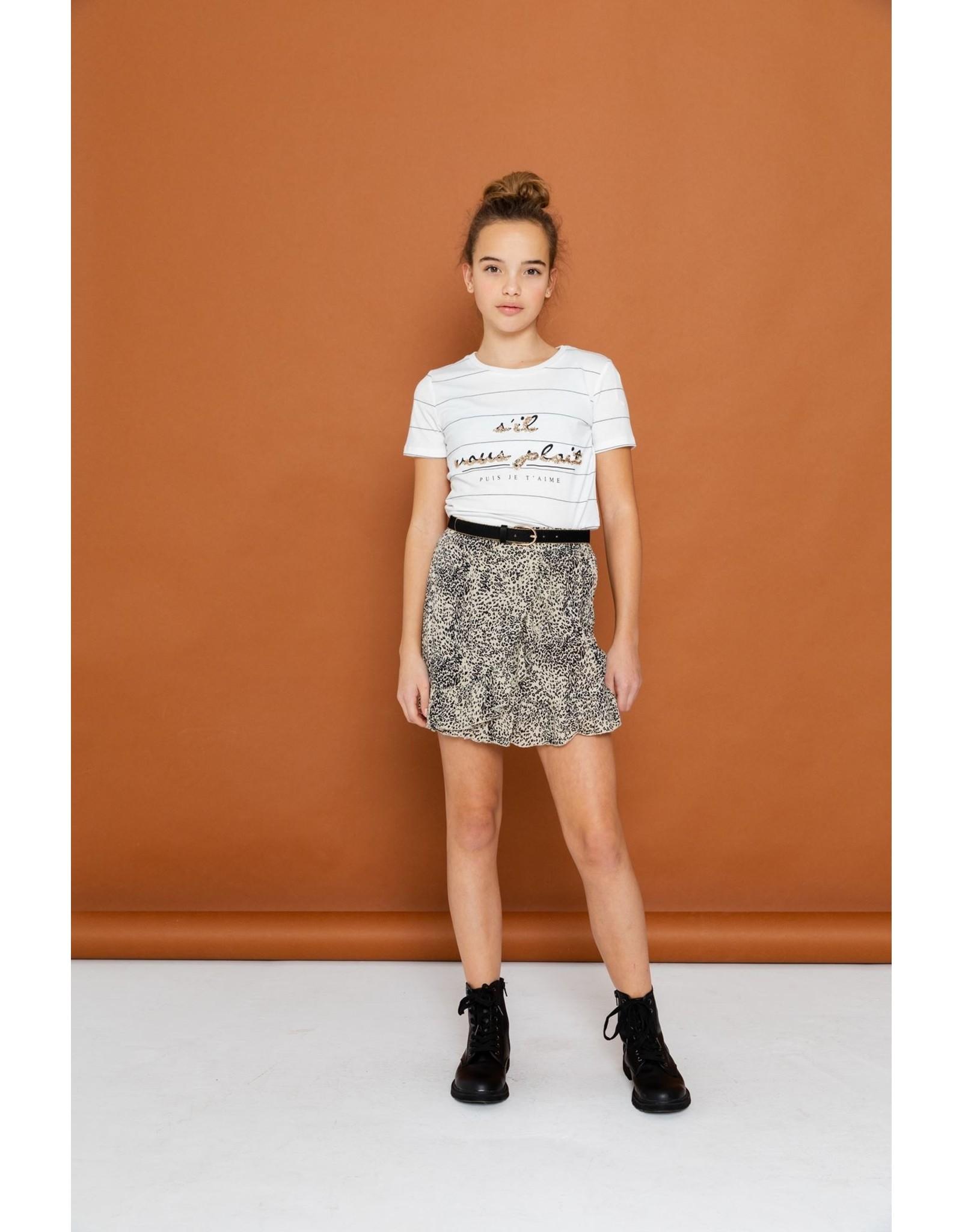 """Geisha T-shirt """"sil vous plait"""" s/s"""