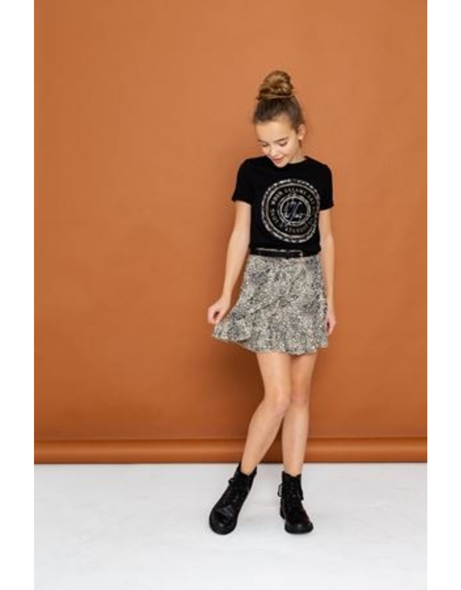 Geisha Skirt printed crinkle