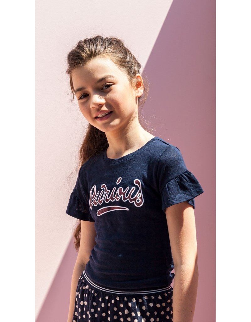 Looxs Revolution Girls T-shirt s/s with ru