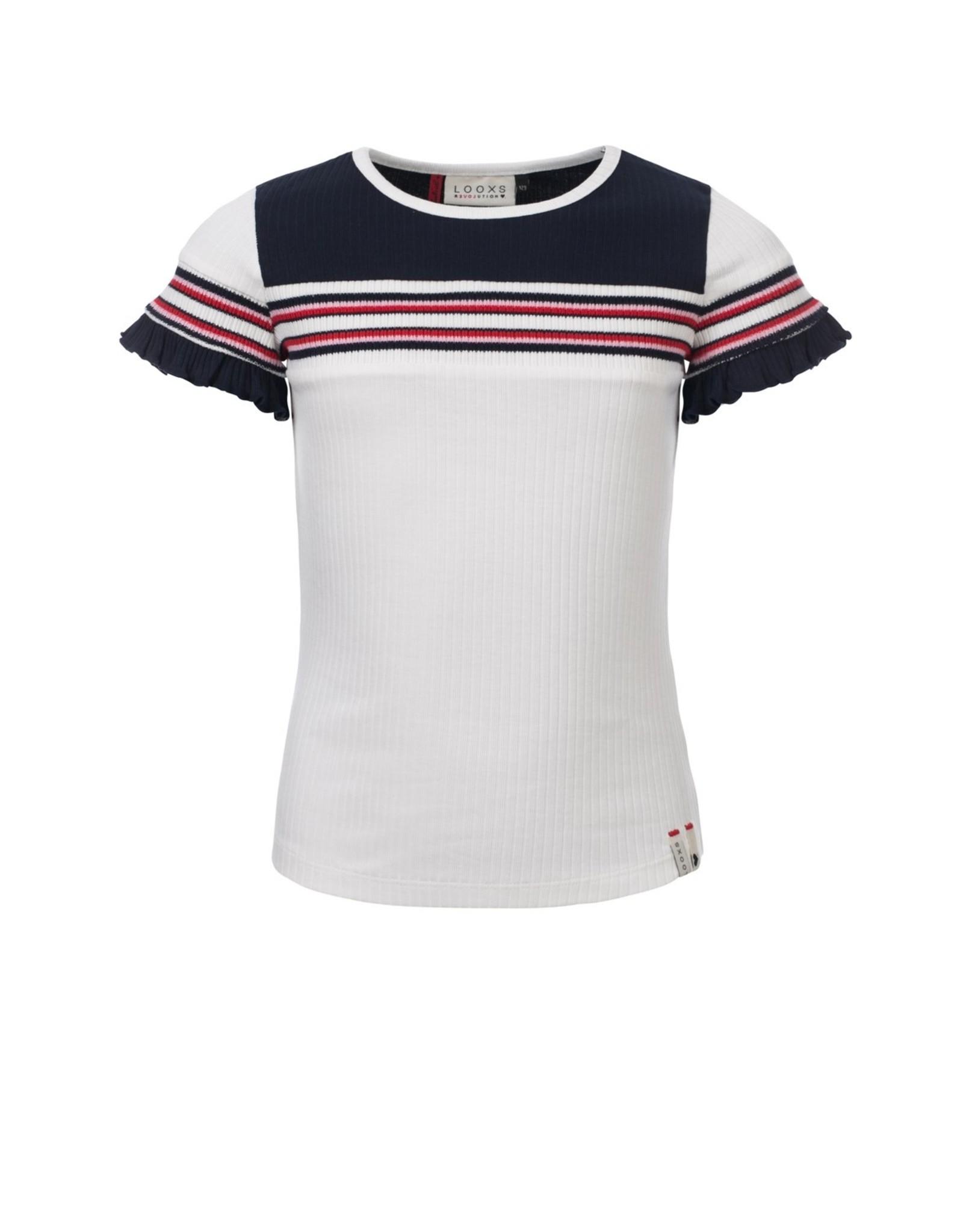 Looxs Revolution Girls rib T-shirt s/s
