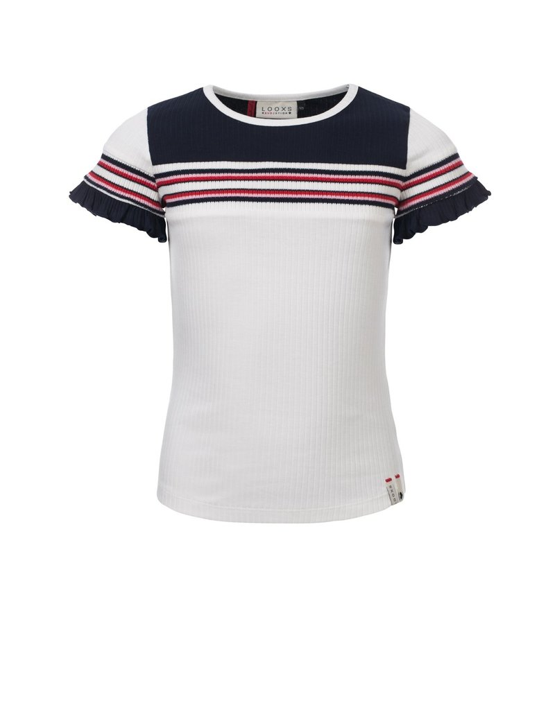 Looxs Revolution Girls rib T-shirt s/s
