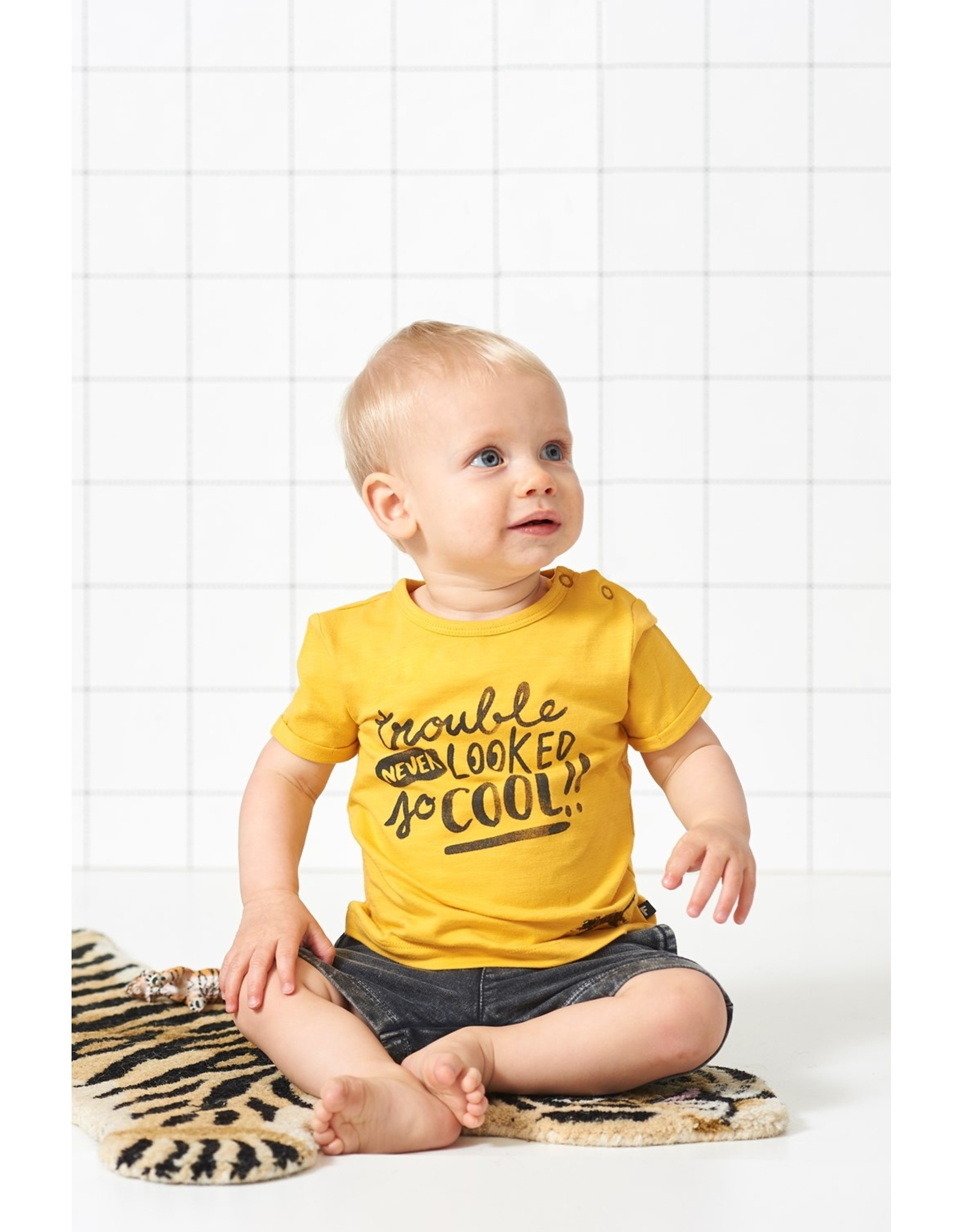 Feetje T-shirt Trouble Never Looked - Born To Be Wild maat 74