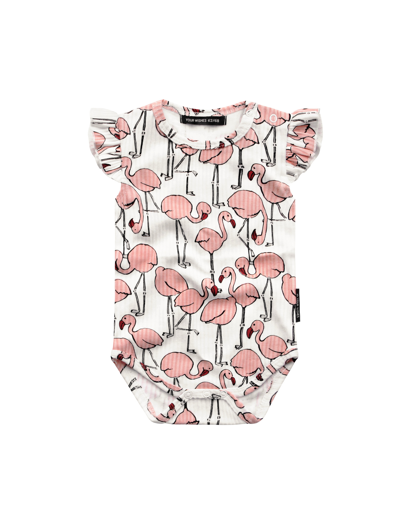 Your Wishes Flamingo   Ruffle Romper