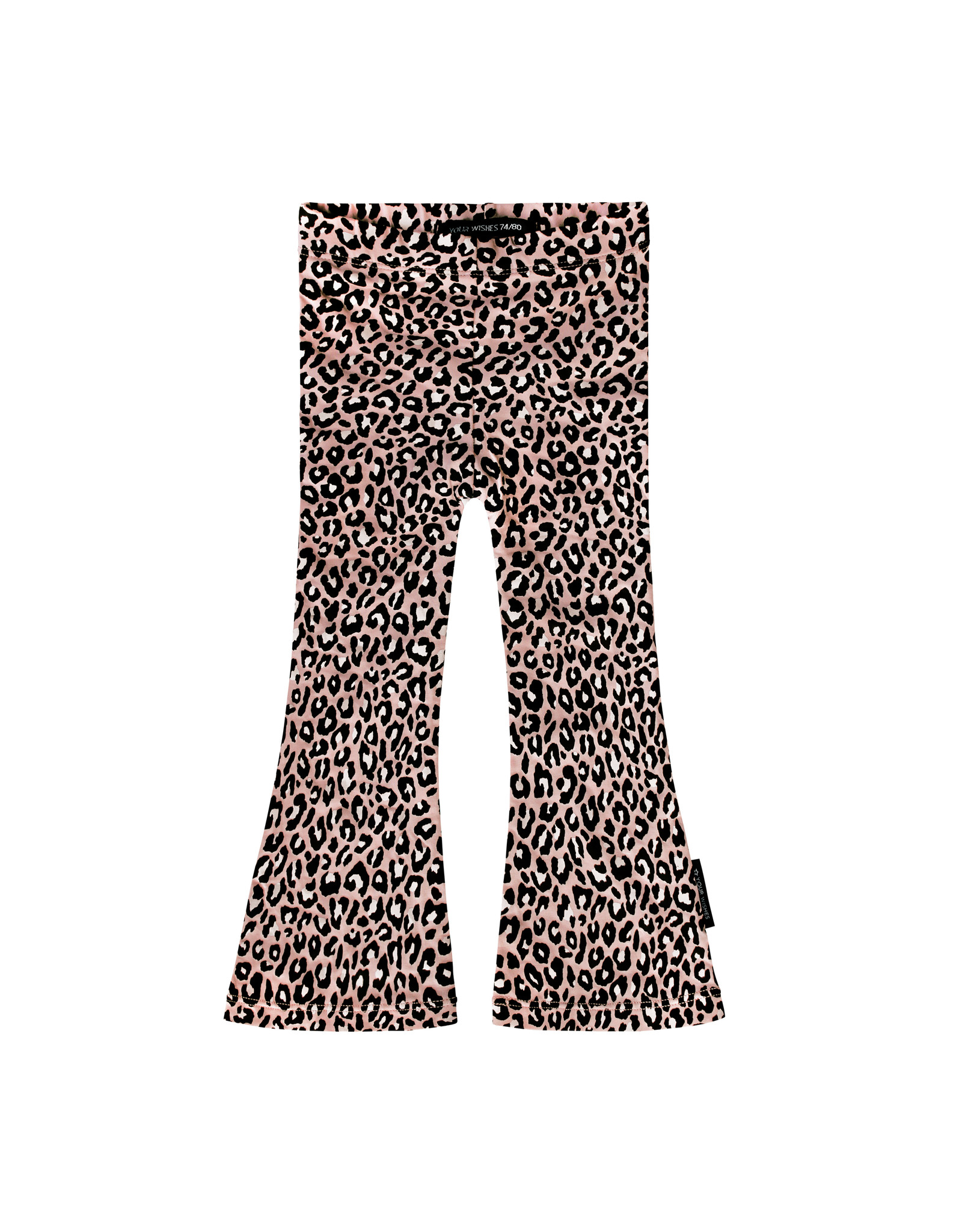Your Wishes Leopard Pink | Flared Legging