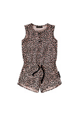 Your Wishes Leopard Pink | Racerback Jumpsuit