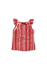 Your Wishes Pink Stripes | Ruffle Singlet maat 98/104