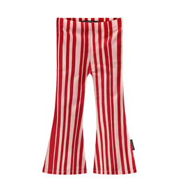 Your Wishes Pink Stripes | Flared Legging