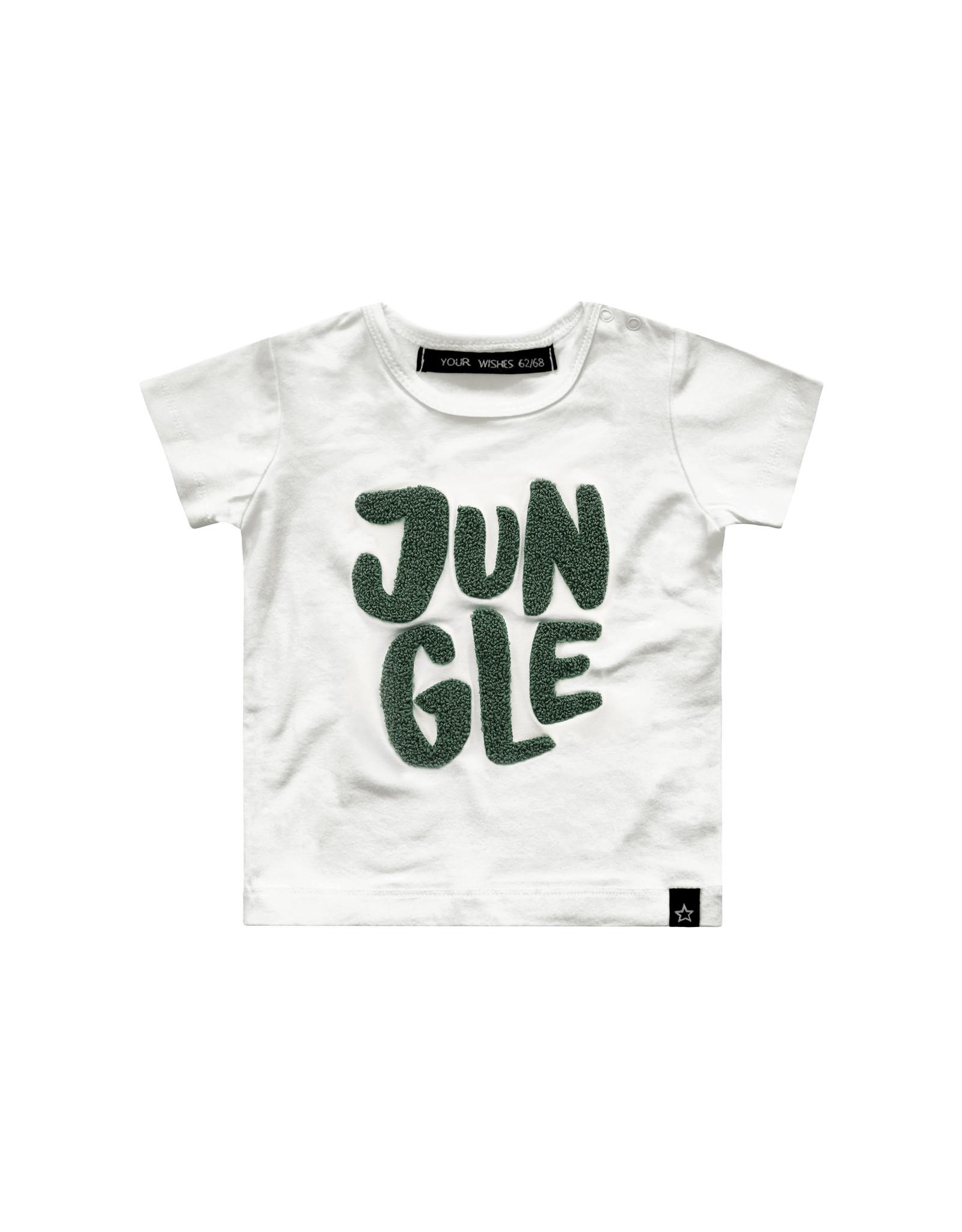 Your Wishes Jungle shirt maat 74/80 en 110/116