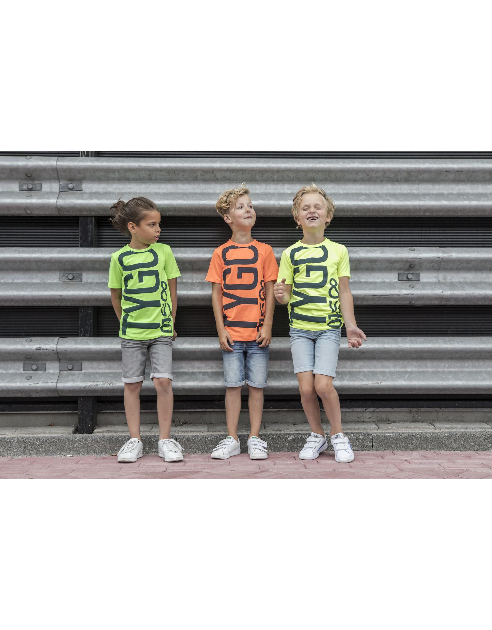 Tygo & Vito T&v t-shirt LOGO neon green