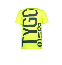 Tygo & Vito T&v t-shirt LOGO neon yellow