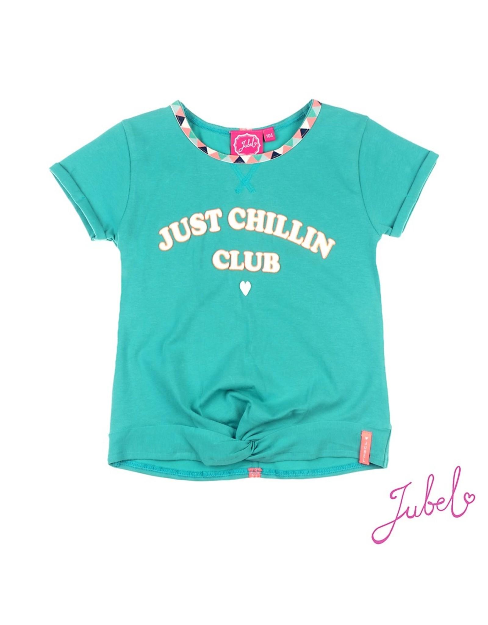 Jubel Crop Top Just Chillin Club - Botanic Blush maat 92