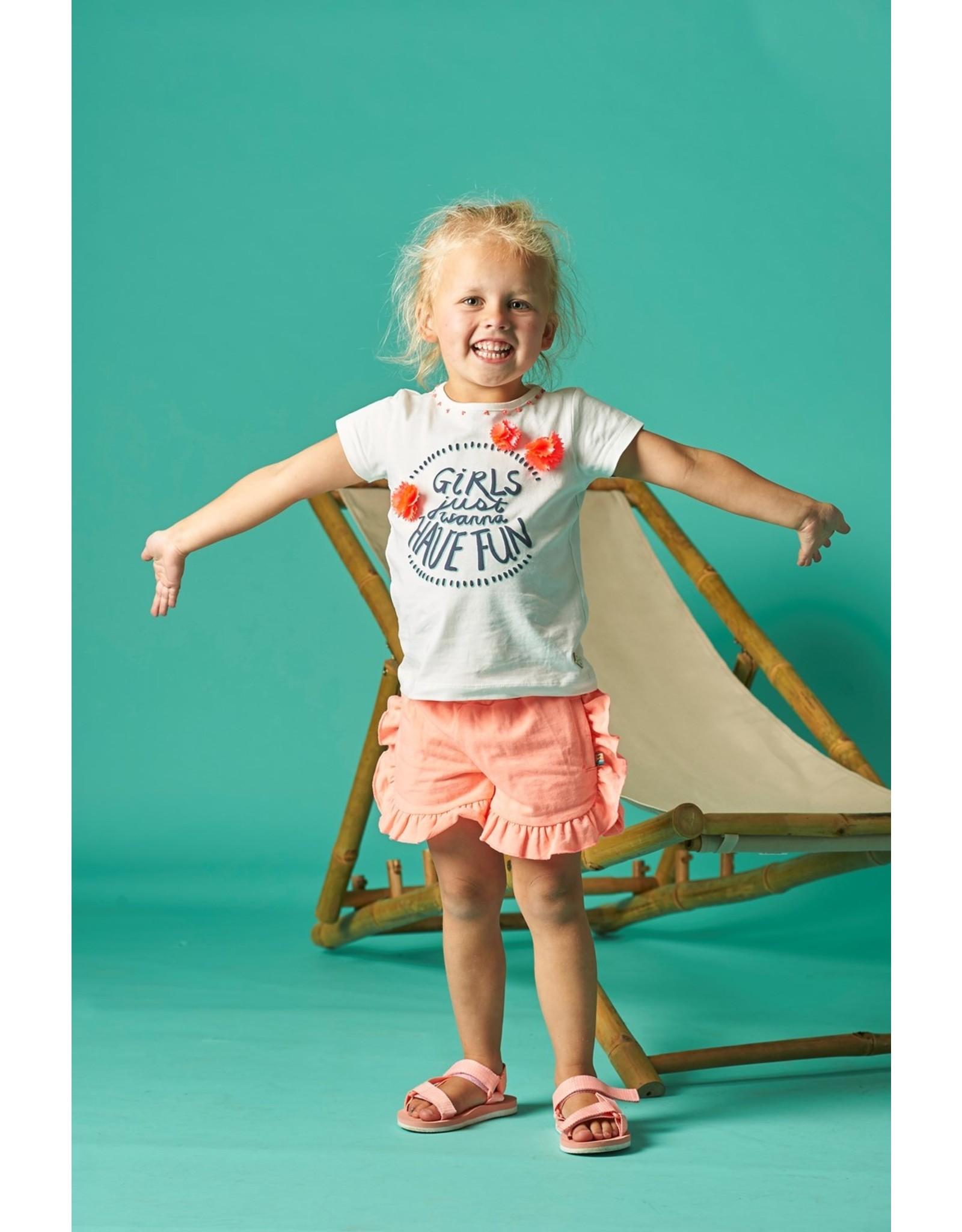 Jubel T-shirt Girls Just Wanna - Botanic Blush