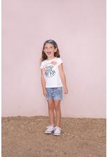 Jubel T-shirt Girls Just Wanna - Botanic Blush maat 98 en 116
