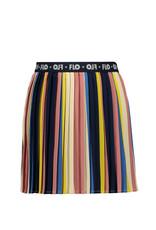 Like Flo Flo girls multi stripe plisse skirt