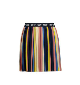 Like Flo Flo girls multi stripe plisse skirt